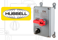Hubbell Circuit-Lock Motor Disconnect with Jog Switch